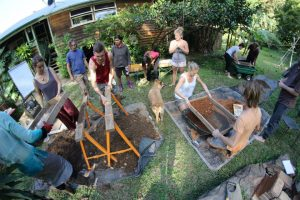 earth building permaculture study