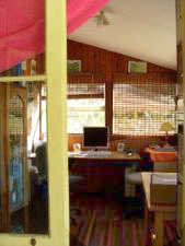 Noosa accommodation healthy permaculture organic farm